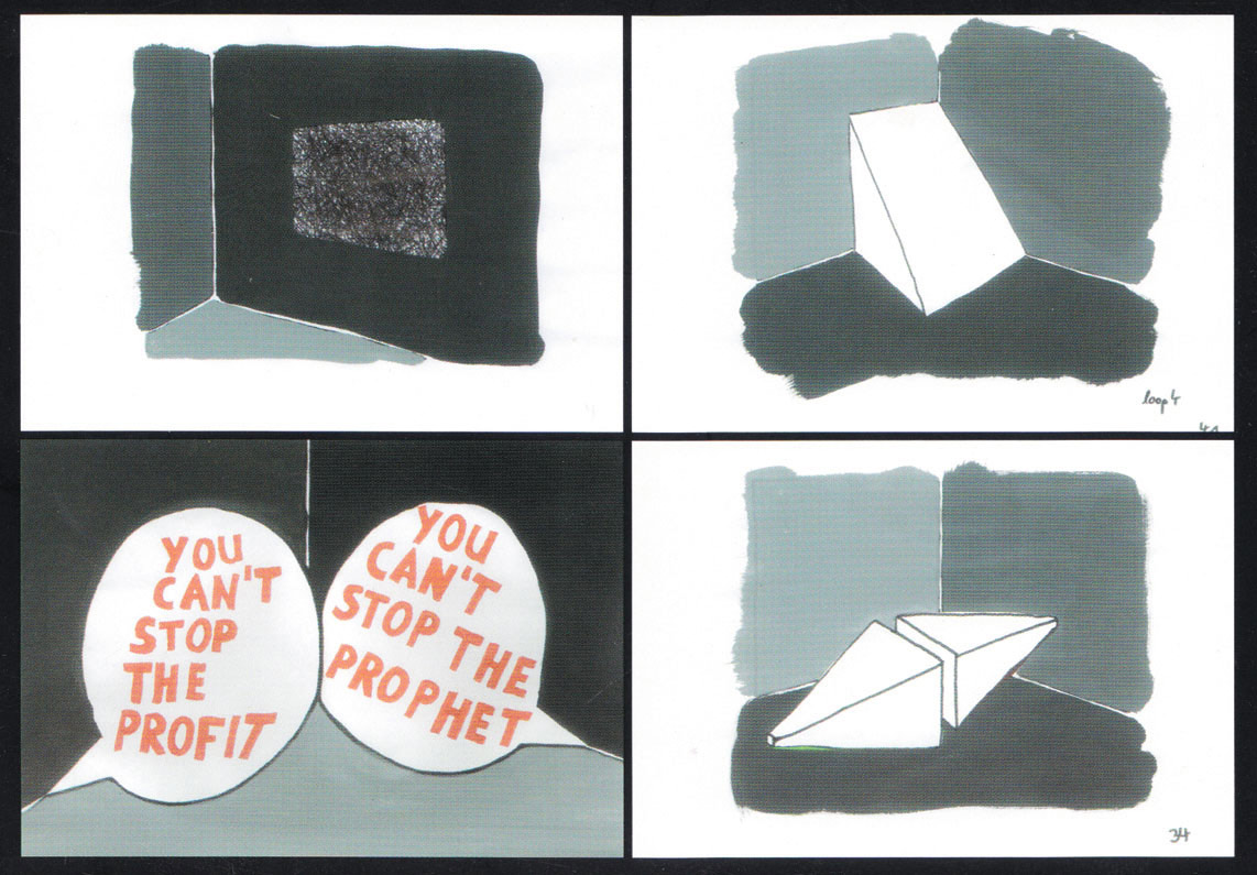 you can't stop the prophet / you can't stop the profit, Georg Kargl Box